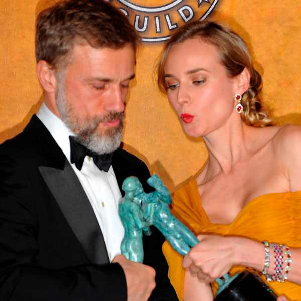SAG 10 Years Ago - Christoph Waltz, Diane Kruger