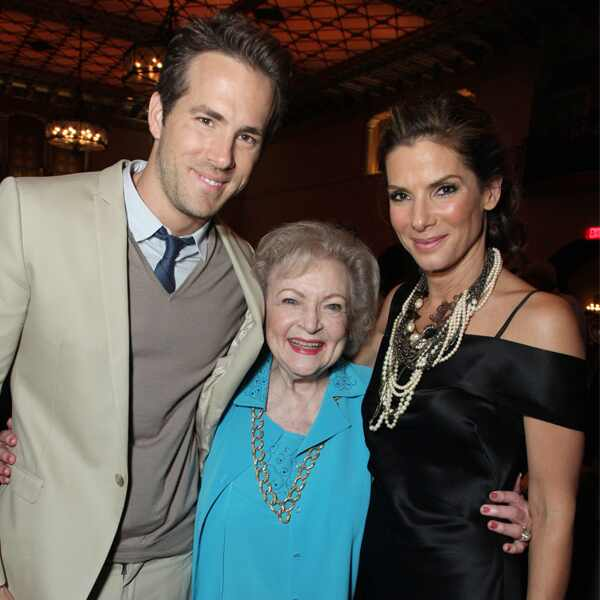 Ryan Reynolds, Betty White, Sandra Bullock