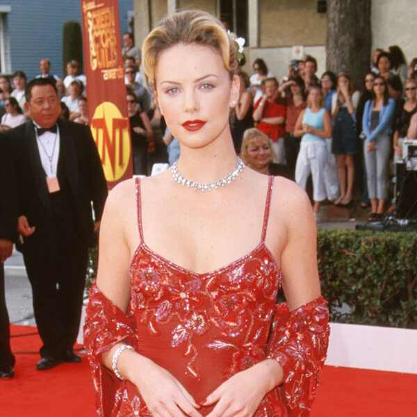 Then and Now - SAG Awards Nominees First Red Carpets - Charlize Theron