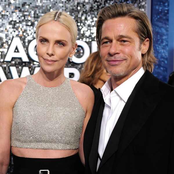 Brad Pitt, Charlize Theron, 2020 Screen Actors Guild Awards, SAG Awards