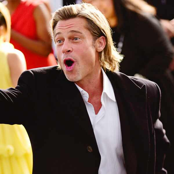 Brad Pitt, 2020 Screen Actors Guild Awards, SAG Awards, Candids