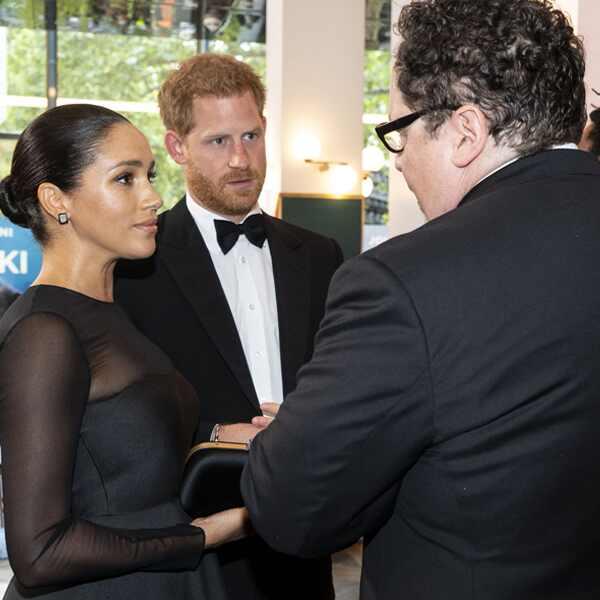 Prince Harry, Meghan Markle, Jon Favreau