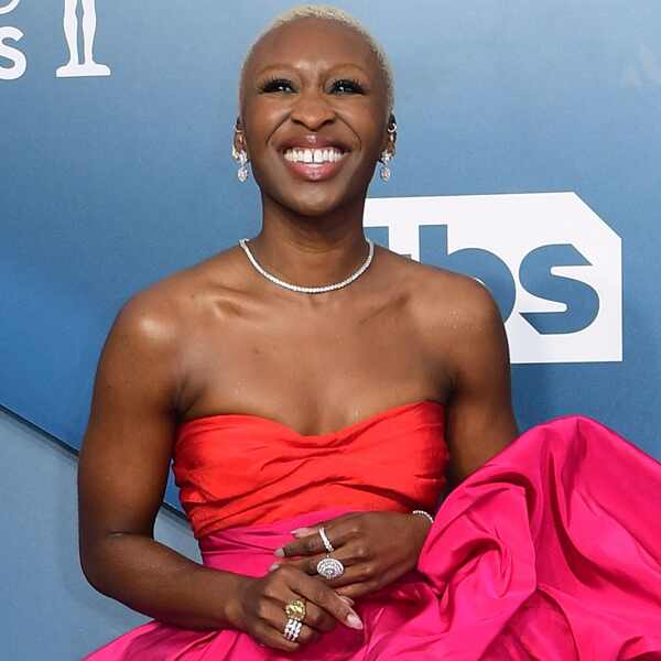Cynthia Erivo, 2020 Screen Actors Guild Awards, SAG Awards, Red Carpet Fashions