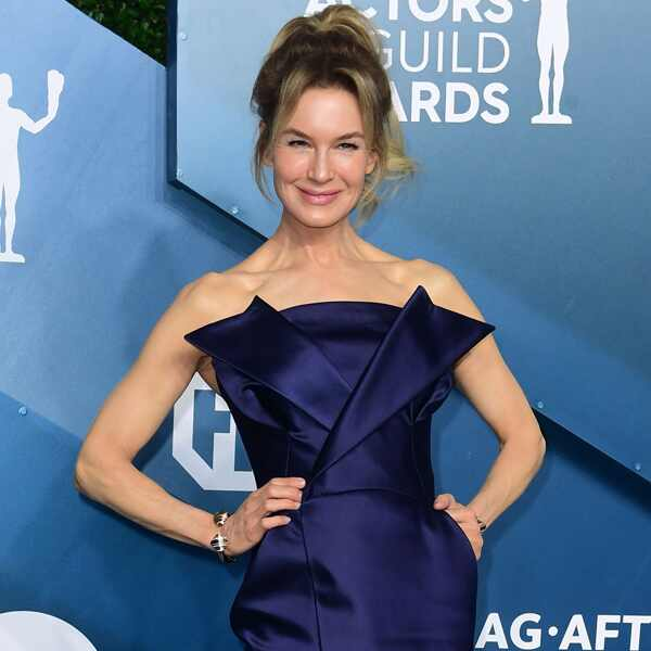 Renee Zellweger, 2020 Screen Actors Guild Awards, SAG Awards, Red Carpet Fashions