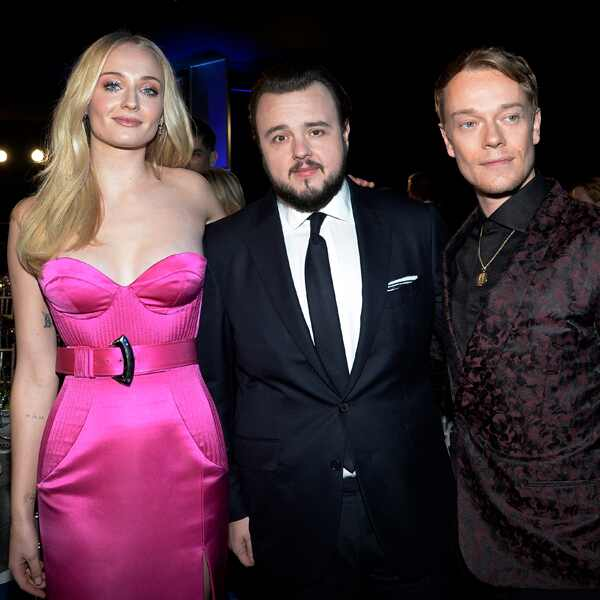 Sophie Turner, John Bradley and Alfie Allen, 2020 Screen Actors Guild Awards, SAG Awards