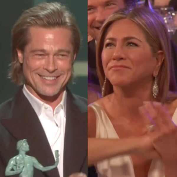 Brad Pitt, Jennifer Aniston, SAG Awards Show Reaction