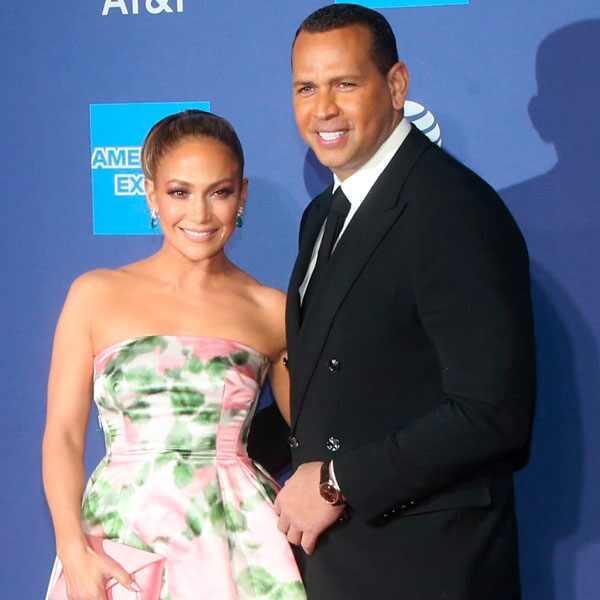 Jennifer Lopez, Alex Rodriguez, 2020 Palm Springs Film Festival Awards