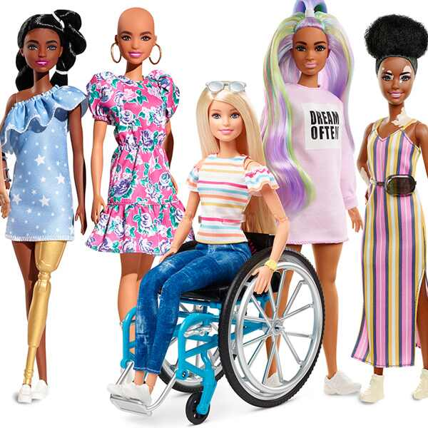 Barbie, 2020 Fashionistas Line