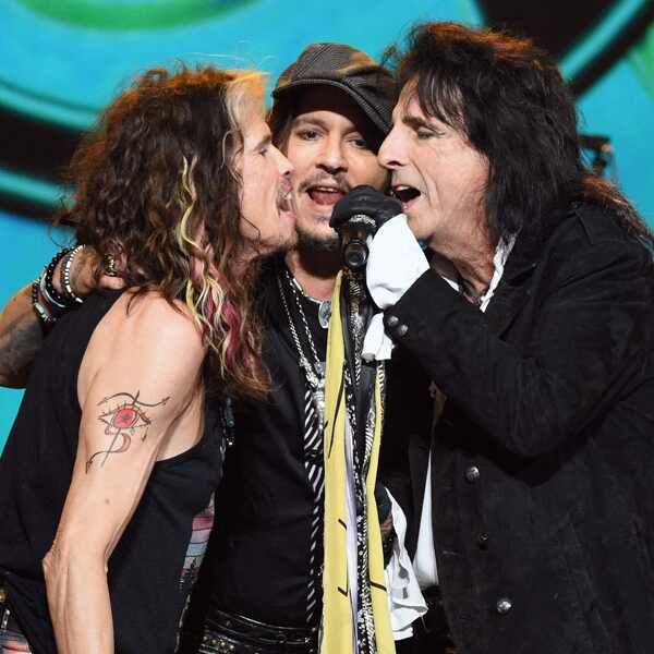 MusiCares Person Of The Year Honoring Aerosmith, Johnny Depp, Steven Tyler, Alice Cooper