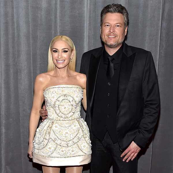 2020 Grammys, Grammy Awards, Couples, Blake Shelton, Gwen Stefani