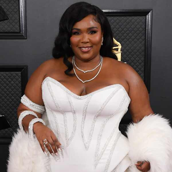Lizzo, 2020 Grammys, Grammy Awards, Red Carpet Fashions