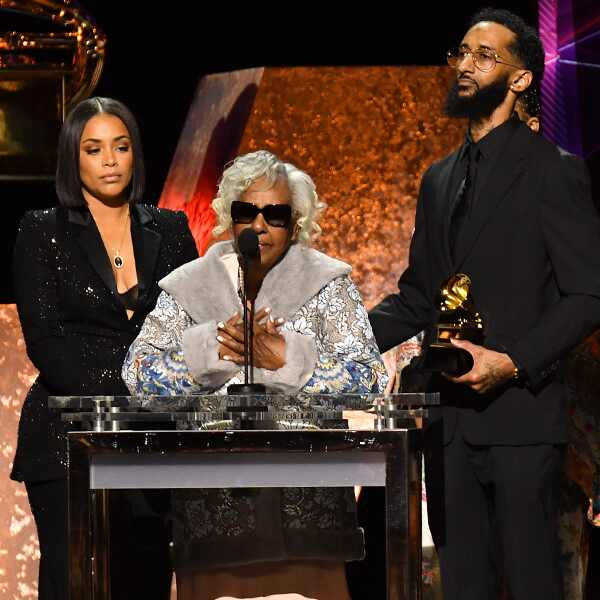 Nipsey Hussle Family, 2020 Grammy Awards, Winner