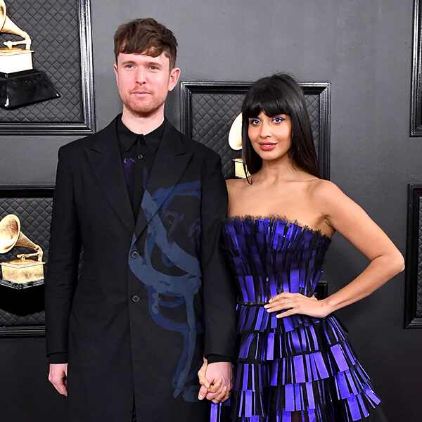 2020 Grammys, Grammy Awards, Couples, James Blake, Jameela Jamil
