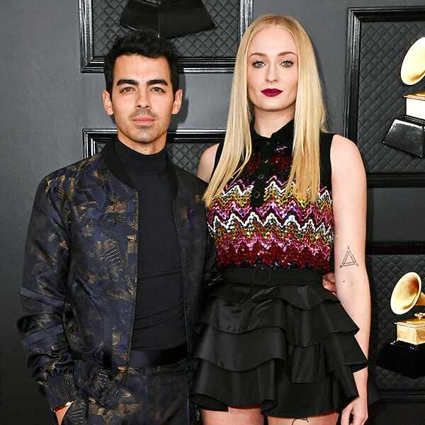 2020 Grammys, Grammy Awards, Couples, Joe Jonas, Sophie Turner