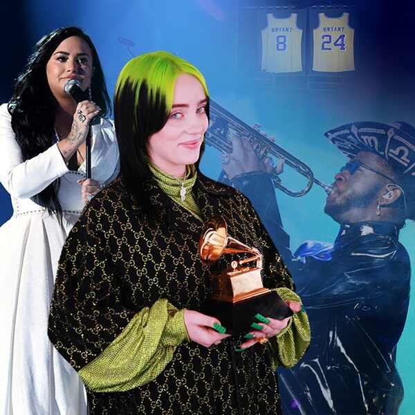 Jaw Droppers, 2020 Grammys, Demi Lovato, Billie Eilish, Lil Nas X, Kobe Bryant