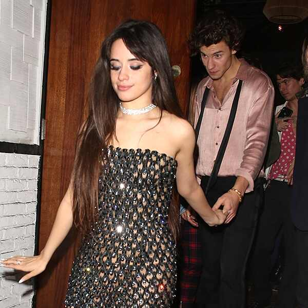 Camila Cabello, Shawn Mendes, Grammys Afterparty