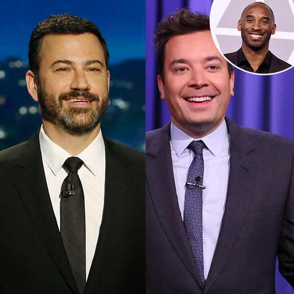 Jimmy Kimmel, Jimmy Fallon, Kobe Bryant