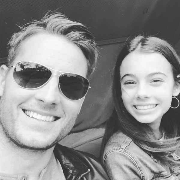 Justin Hartley, Kids