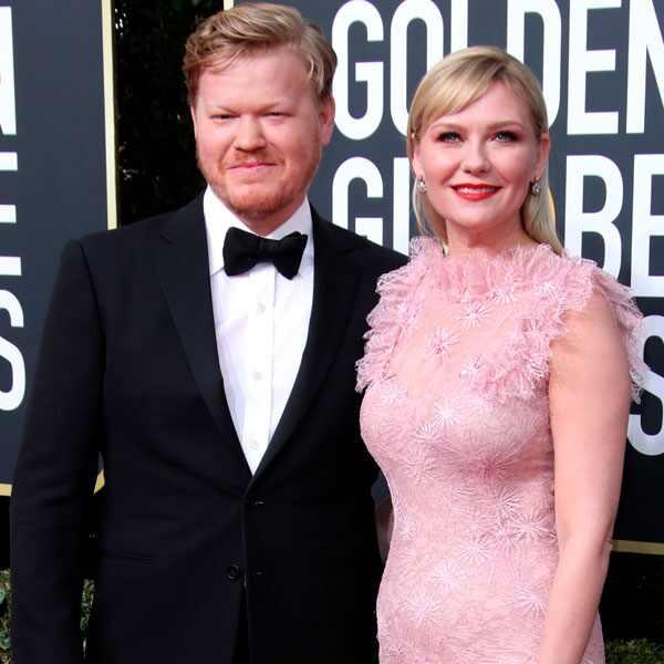 Jesse Plemons, Kirsten Dunst, 2020 Golden Globe Awards, Couples