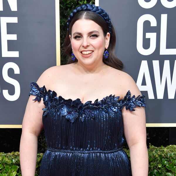 Beanie Feldstein, 2020 Golden Globe Awards, Red Carpet Fashion
