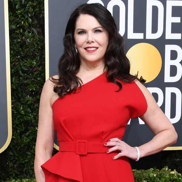 Lauren Graham, 2020 Golden Globe Awards, Red Carpet Fashion