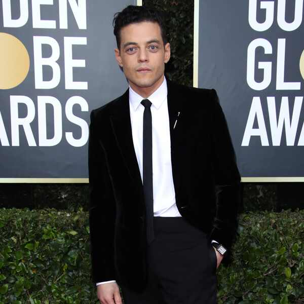 Rami Malek, 2020 Golden Globe Awards, Red Carpet Fashion