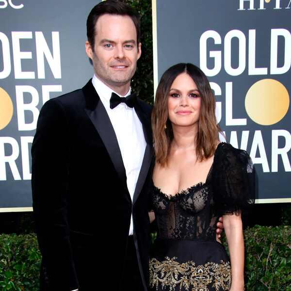 Bill Hader, Rachel Bilson, 2020 Golden Globe Awards, Couples
