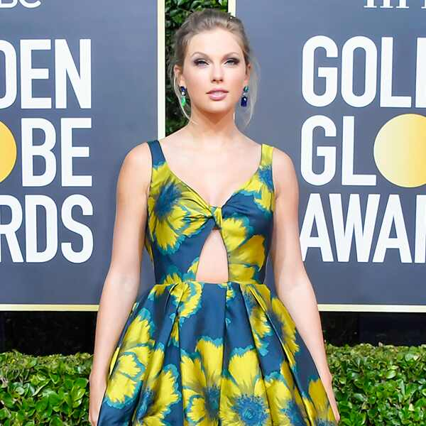 Taylor Swift, 2020 Golden Globe Awards, Red Carpet Fashion