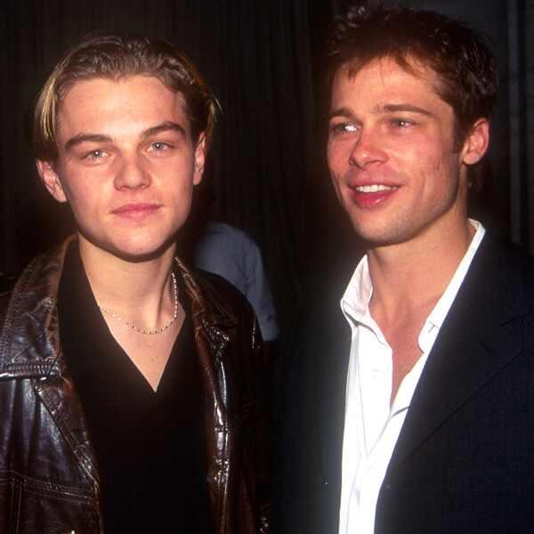 Leonardo DiCaprio and Brad Pitt, 90s