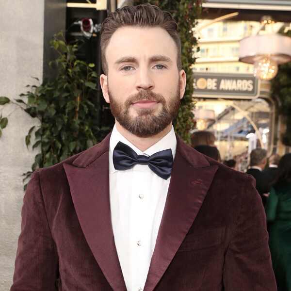 Chris Evans, 2020 Golden Globe Awards