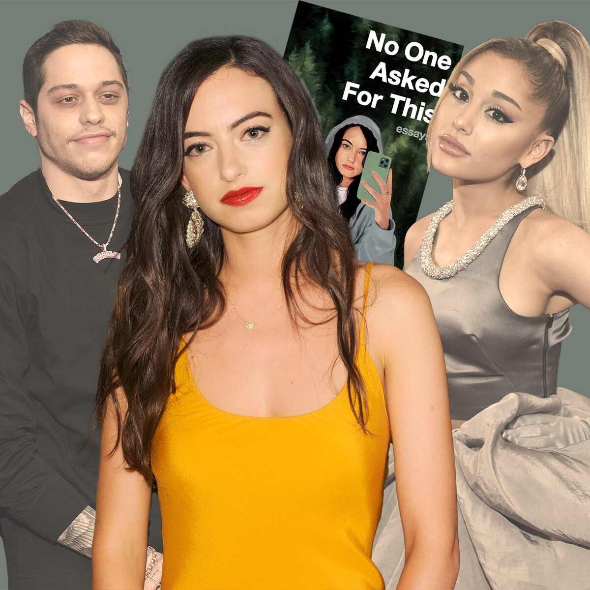 Cazzie David, No One Asked For This, Pete Davidson, Ariana Grande