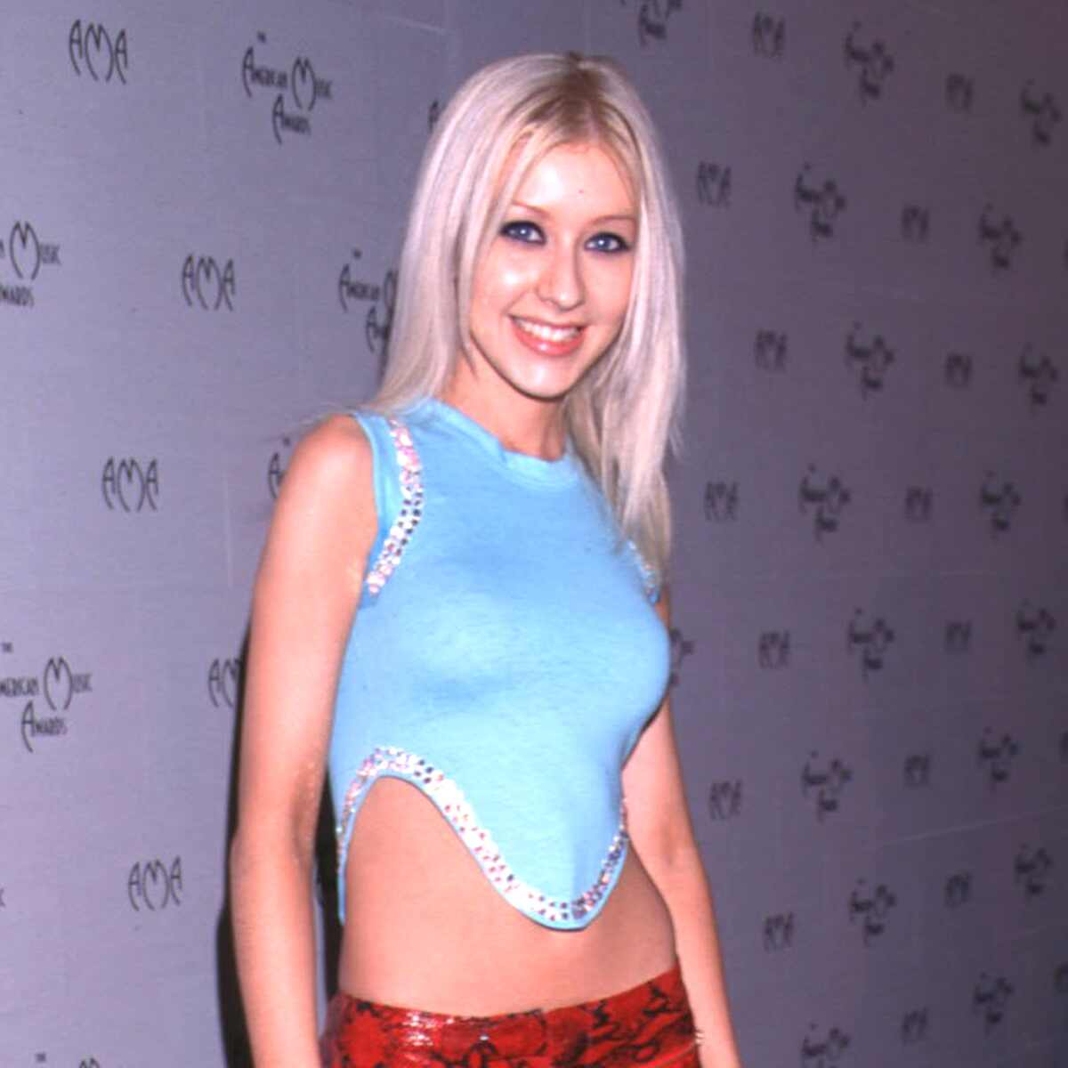 Best Fashion Moments from the 2000 American Music Awards, Christina Aguilera