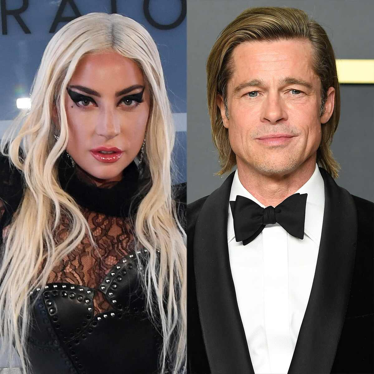 Lady Gaga, Brad Pitt