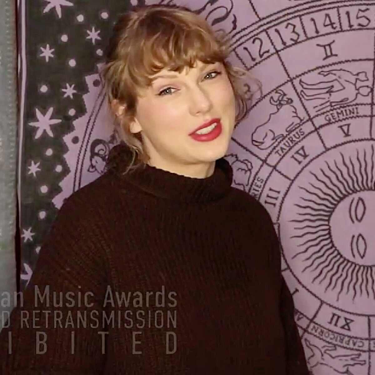 Taylor Swift, 2020 American Music Awards, AMAs, Show