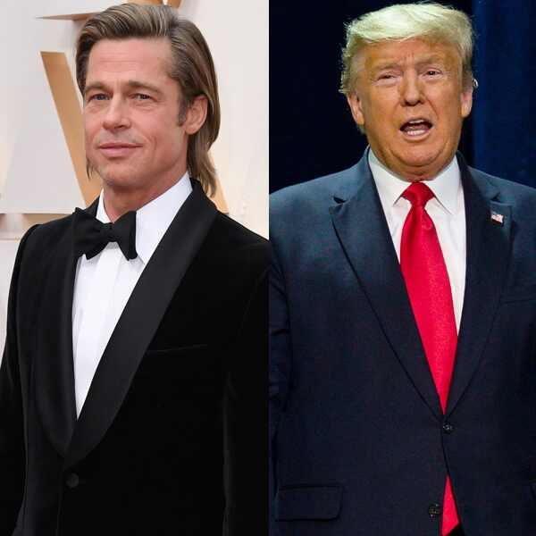 Brad Pitt, Donald Trump