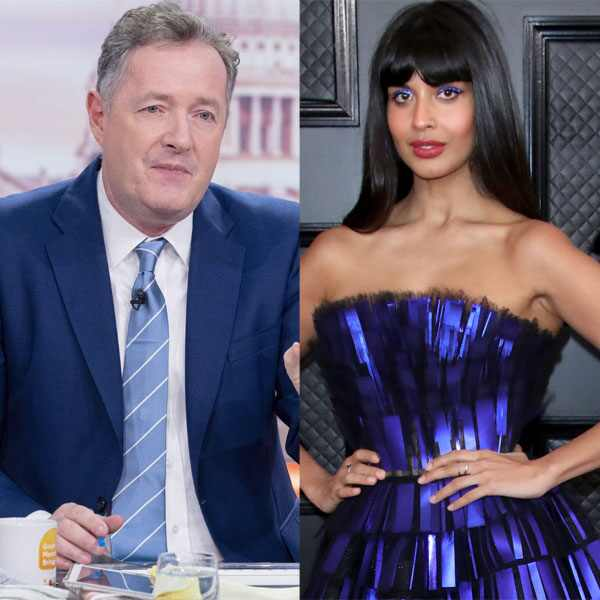 Piers Morgan, Jameela Jamil
