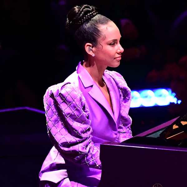 Alicia Keys, Celebration of Life, Kobe Bryant, Gianna Bryant, Celebrities