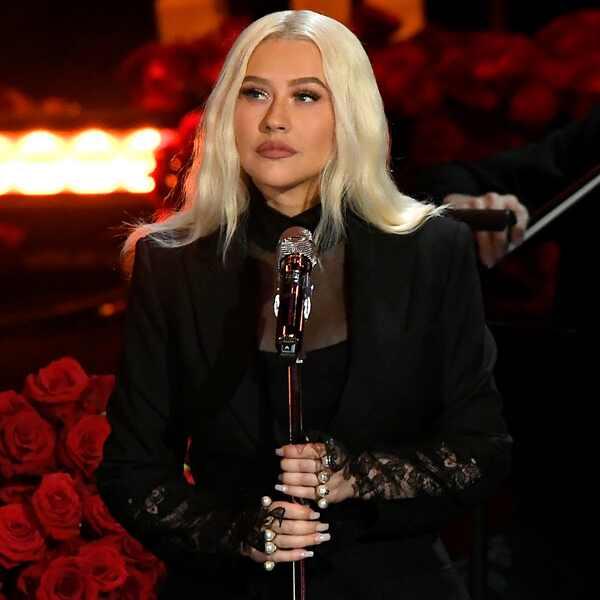 Christina Aguilera, Celebration of Life, Kobe Bryant, Gianna Bryant, Celebrities