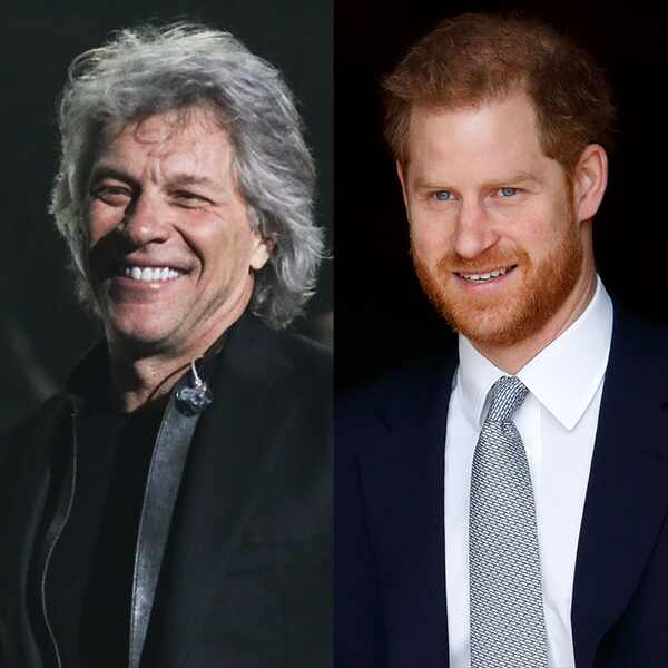 Bon Jovi, Prince Harry
