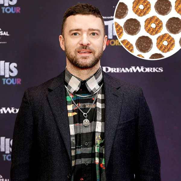 Justin Timberlake, Cookies, Girl Scout Cookies, Samoa Cookies, Thin Mints
