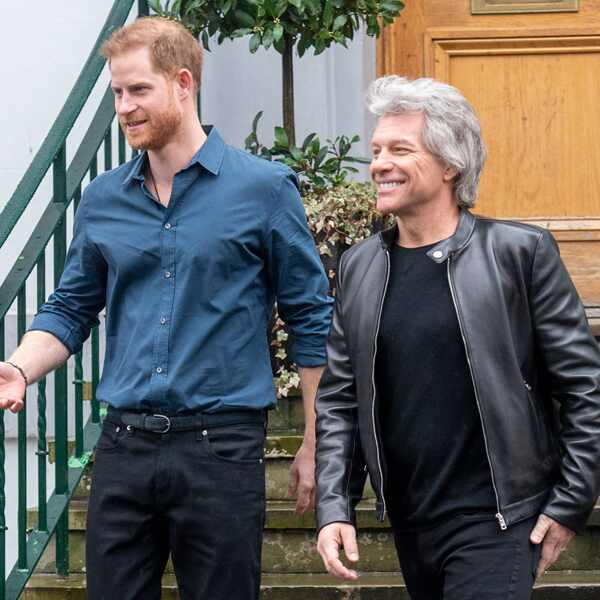 Prince Harry, Jon Bon Jovi