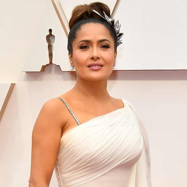 Salma Hayek Pinault, 2020 Oscars, Academy Awards, Red Carpet Fashions