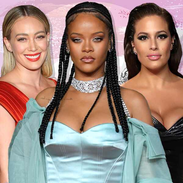 E-Comm: Celebs' Fave Low-Key Makeup, Hilary Duff, Rihanna, Ashley Graham