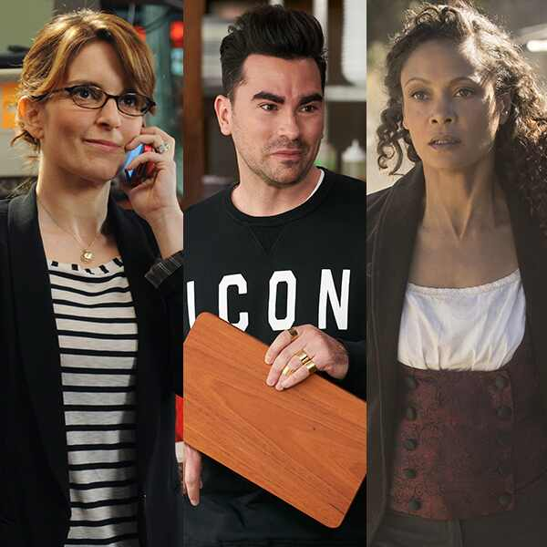 What We're Watching, Tina Fey, Dan Levy, Thandie Newton