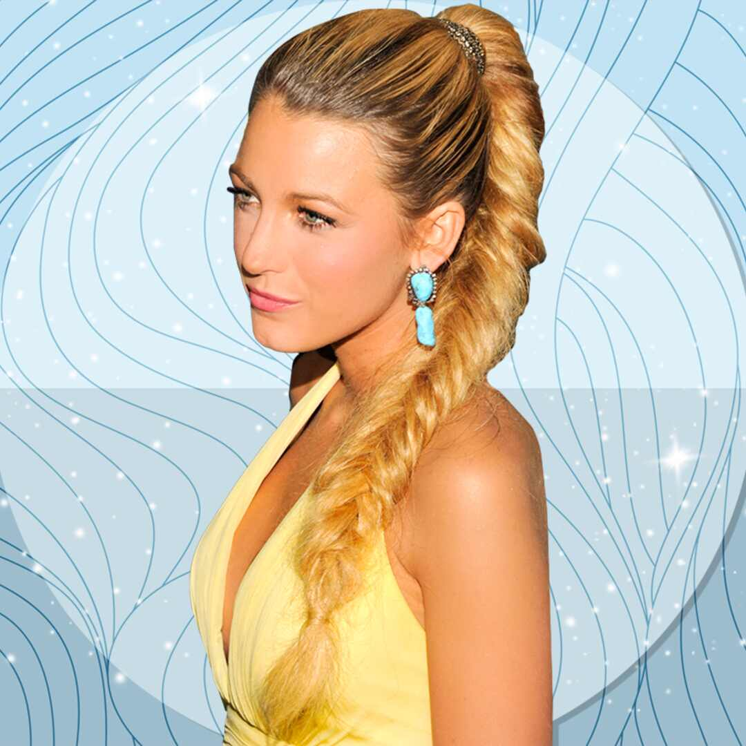 Blake Lively, Braids, YouTube Tutorials