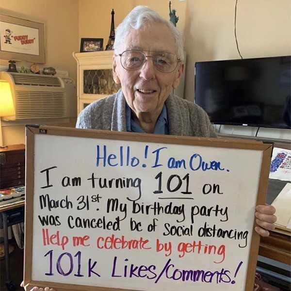 Owen 101st Birthday, IG