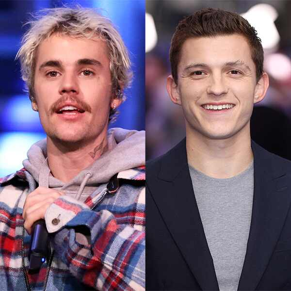 Justin Bieber, Tom Holland