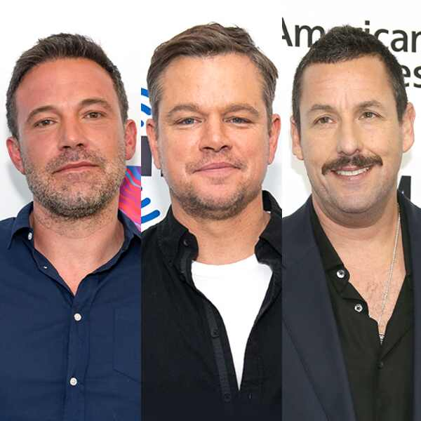 Ben Affleck, Matt Damon, Adam Sandler