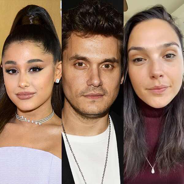 John Mayer, Ariana Grande, Gal Gadot