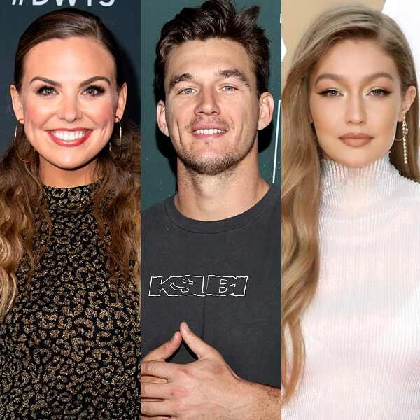 Tyler Cameron, Gigi Hadid, Hannah Brown